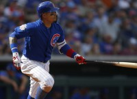 Cubs' Baez out with thumb fracture