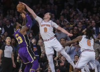 Knicks riding rare high ahead of trip to Toronto