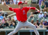Harvey to debut for Angels vs. A's, Estrada