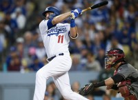 Dodgers are a hit to open season; Giants sputtering