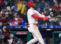 Harper returns to D.C. as Nationals host Phillies