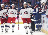 Blue Jackets One Win Away From Historic Sweep