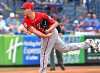 Ex-Phillie Hellickson makes 1st start of year for Nats