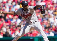 Hot Braves to face cold Rockies in Denver