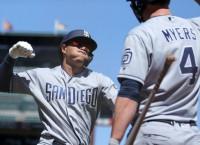 Padres hand ball to rookie Avila against D-backs