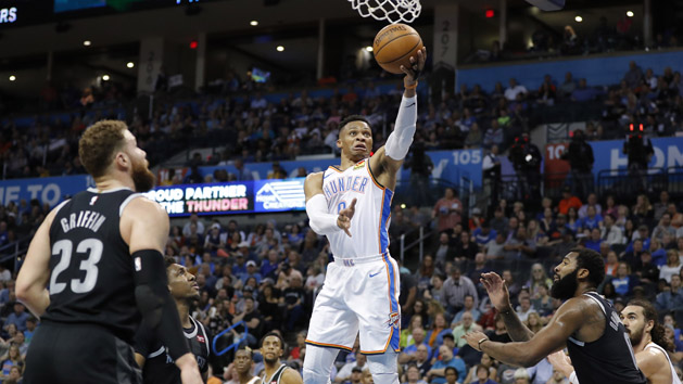 Thunder trade Westbrook to Rockets for Paul