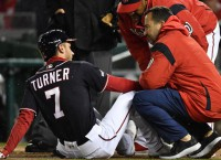 Nationals SS Turner to IL with broken finger