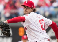 Phillies turn to Nola for series opener vs. Brewers