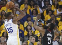 Durant (calf) out for Game 2 of West finals