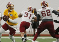 Gruden: Haskins in mix for Redskins' starting QB