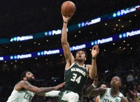 Bucks look for 3-1 series lead at Boston