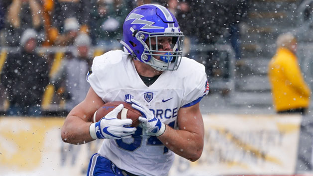 Air Force removes top rusher Fagan from team