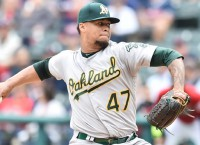 Montas, Murphy absent from A's camp