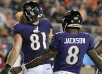 Ravens TE Hurst says foot problems behind him