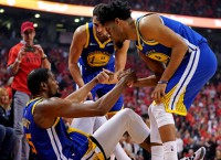 Warriors fear Durant's right Achilles ruptured
