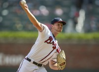 Surging Braves chase sweep of Marlins