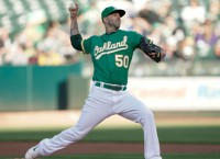 A's hope to stay hot against Twins