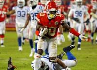 Report: Chiefs WR Hill avoids surgery