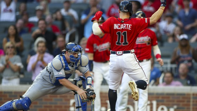 Braves place OF Inciarte (hamstring) on IL