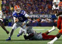 Gators Edge 'Canes in Sloppy Opener