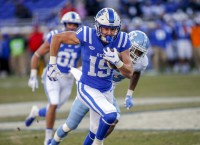 Duke WR Bobo fractures clavicle, out indefinitely