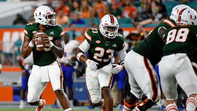 QB named, 'Canes TD underdog against UF