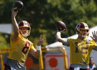 Keenum, McCoy ahead in Redskins QB competition