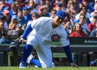 Cubs' Rizzo (ankle) out, in boot 5-7 days