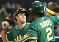 A's look to get home for wild-card game on a roll