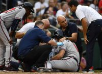 Braves' Culberson has multiple facial fractures