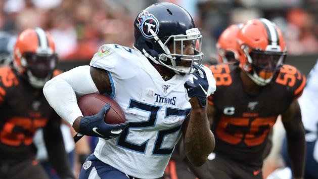 Titans RB Henry to play in finale vs. Texans