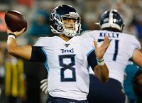Titans' Vrabel not ready to name starting QB