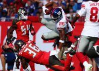 Giants' Barkley has high-ankle sprain, out a while