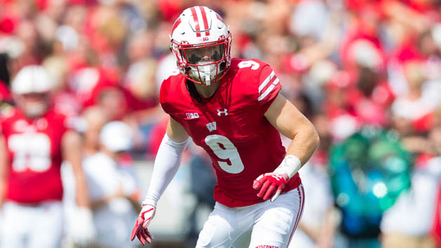 Wisconsin S Nelson out for rest of season