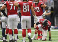Falcons QB Ryan has sprained ankle