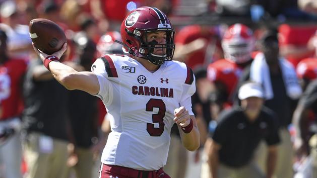 South Carolina's Hilinski transferring to Northwestern
