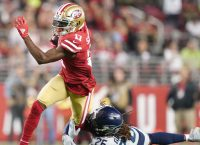 49ers WR Sanders (ribs) is day-to-day