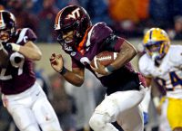 No. 23 Va. Tech battles Virginia for Coastal crown