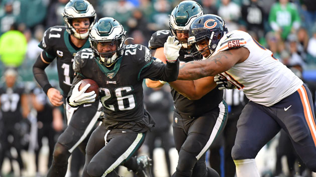 Eagles' Howard to play; Ertz's status 'up in the air'