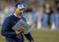 Baylor hires ex-UNC coach Fedora as OC, QBs coach