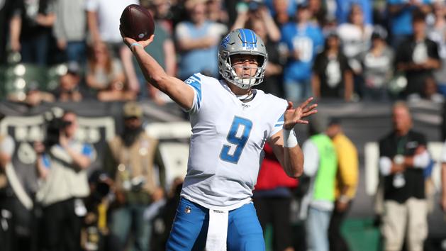Lions reinstate Stafford after 'false-positive' test