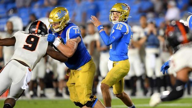 UCLA QB Burton enters transfer portal