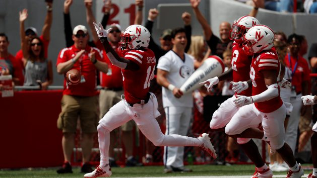 Nebraska WR Spielman takes leave of absence