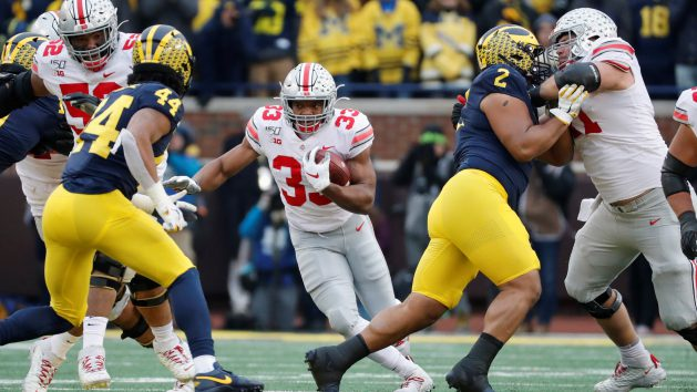 Reports: Ohio State RB Teague out with injury
