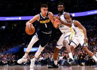 Nuggets aim to bounce back when they visit Hornets