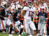 Bama WR Waddle game-time decision vs. Ohio State