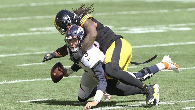 Broncos QB Lock awaits tests on injured shoulder