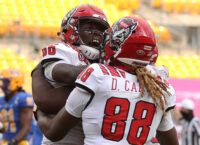 Emezie's Second TD Grab Ices Wolfpack Comeback Win