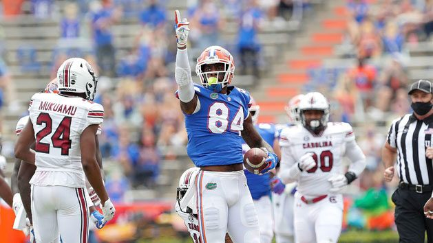 Florida TE Pitts declares for 2021 NFL Draft