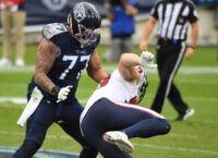 Titans LT Lewan out for year, WR Davis activated